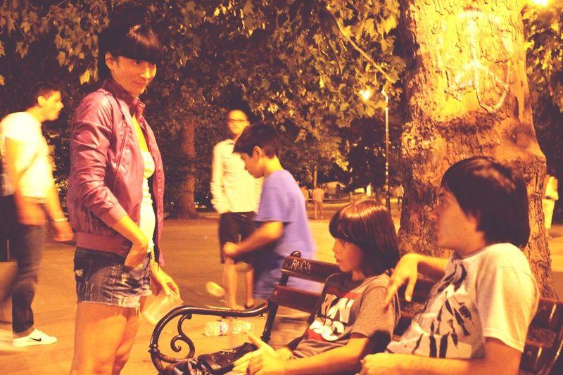 Enjoying Life Meeting Friends Varna Shaha Chill