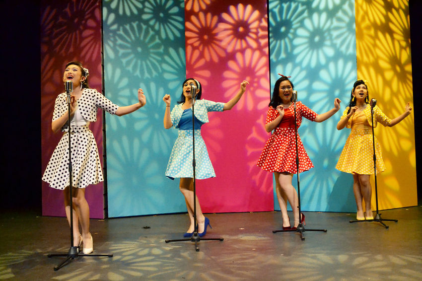 365project2017 38/365 Singing The Fortuinettes Adult Dancing Day Friendship Full Length Indoors  People Performance Performance Group Performing Arts Event Real People Standing Togetherness Young Adult Young Women