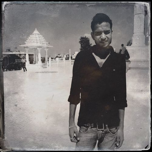 Rahul in the