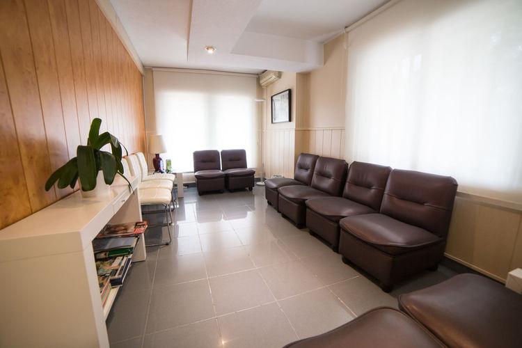 Interior of clinic