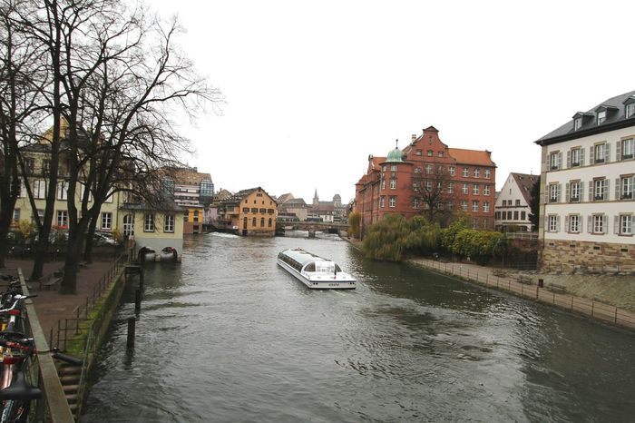 Being A Tourist Strasbourg Strasbourg♥ Visiting Strasbourg :) Boat Medieval Architecture MedievalTown Cityscapes Strasburg Medieval