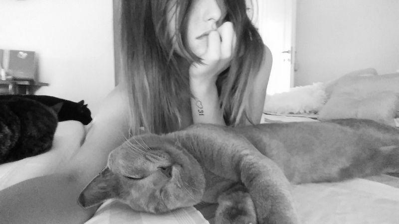 Cat Enjoying Life Wordstoliveby Wordporn