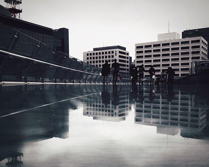 Reflection IPSMinimal IPSUrban Snapshots Of Life Amazing Architecture The Moment - 2015 EyeEm Awards The Street Photographer - 2015 EyeEm Awards Cityscapes Creative Light And Shadow Going The Distance B&w Street Photography