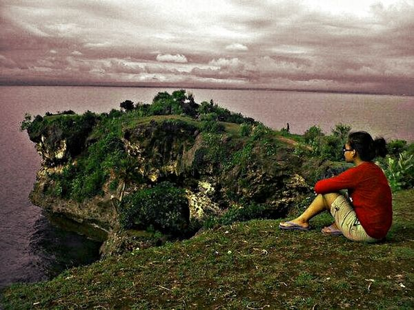 look at the beautiful sky ♥ Fromwhereistand Wonderful Sky Wonderful Seaview Wonderful Nature
