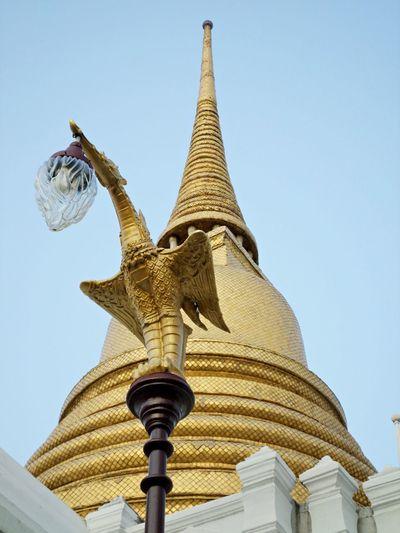 Thai Style Photo. Thailand Tods Tada Buddha Temple Thai Styles Wat Thai Statue Bangkok Thailand. Bangkok Thai Temple Buddha Thailand.. Sky Nature