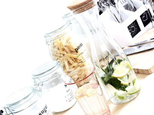 Refreshing 🍋 Hello World Summer ☀ Refreshingdrink Water Lemons Lime Peppermint Fresh Taking Photos Enjoying Life In My Kitchen
