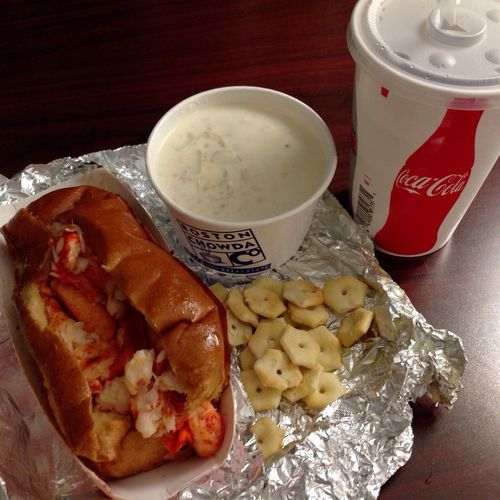 Food And Drink Drink Ready-to-eat Food Lobsters Clamchowder Boston United States
