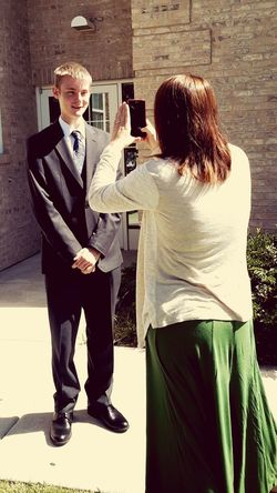 Mother and Brother Taking Photos Ldsmissionary Santarosa Missing You Handsome Man All Grown Up First Eyeem Photo