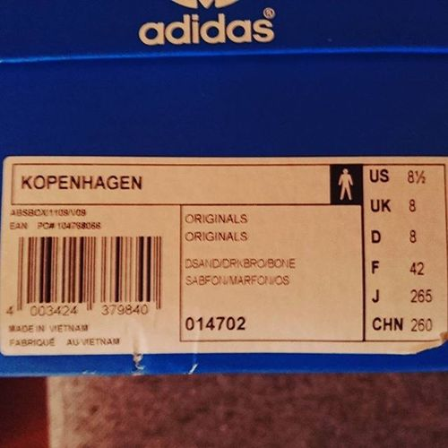 Todaysdrop Adidaskopenhagen2011 Adidasrestoration Adidaskopenhagensizeexclusive Adidaskopenhagensand