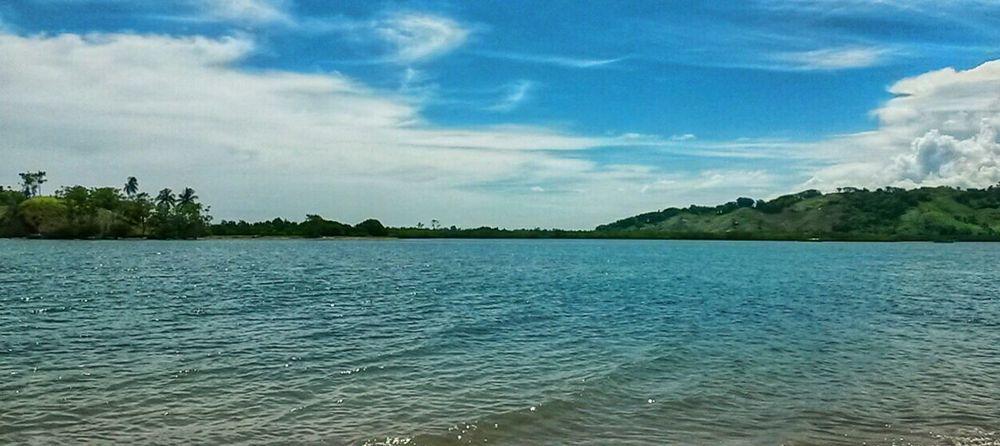 Landscape Clouds And Sky Samsunggalaxys4mini Sea EyeEm Indonesia