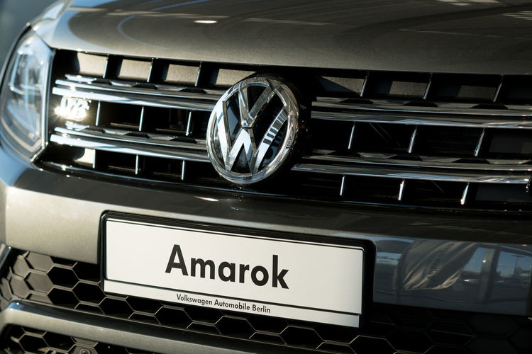 Volkswagen Amarok. The Volkswagen Amarok is a pickup truck produced by Volkswagen Commercial Vehicles (VWCV) since 2010 Cars Transport Transportation VW Amarok Car Close-up Land Vehicle Mode Of Transport Mode Of Transportation Motor Vehicle No People Transportation Vehicle Volkswagen