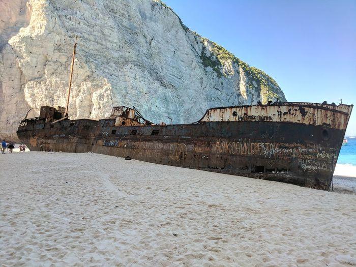 Graffiti Beach Sand Sea Nautical Vessel Travel Destinations NavagioShipwreck Navagio Beach Greek Islands Zakynthos, Greece Zakynthos Zante Travel Vacations Relaxation Boat Tour