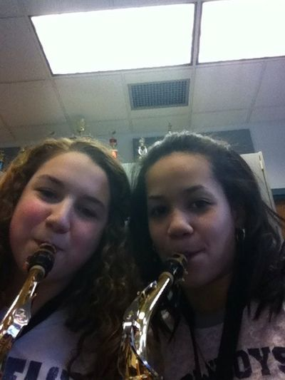 Union Band Geeks! Saxophones