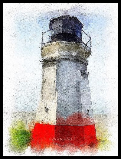 IPhoneography TangledFX Auto Painter Vermilion Lighthouse
