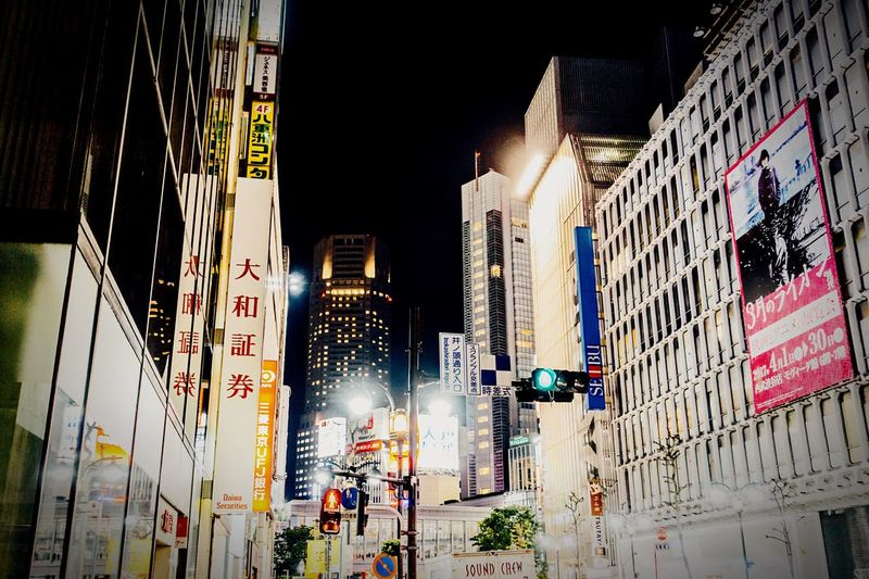 The City Light Midnight City Street Lights Metropolis Tokyo Shibuya Skyscraper Overhead Stranger Night Lights Urban Skyline EyeEm Gallery Urbanphotography Street Atomosphere No People Going Somewhere? Shibuya,Tokyo Japan April April 2017 Ultimate Japan Tokyo Street Photography Streetphotography