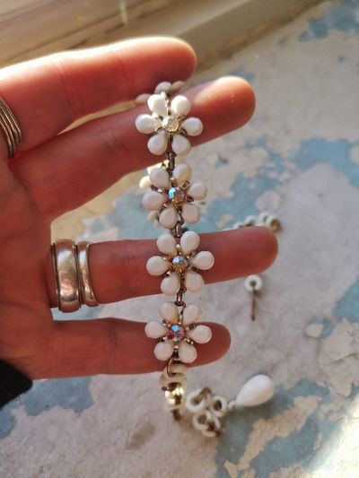 Human Hand Celebration Jewelry Necklace Close-up Pendant