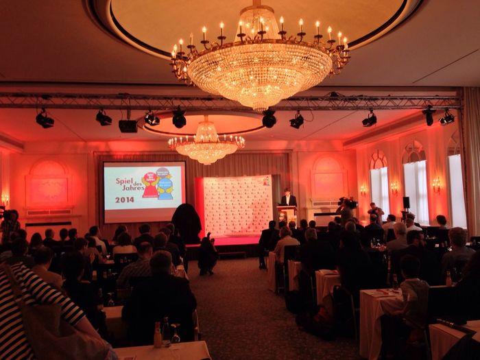 Spiel des Jahres Verleihung 2014 Sdj14 Berlin Kempinski