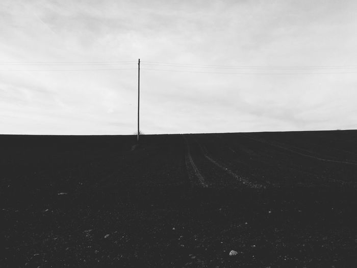 Landschaft - Landscape Blackandwhite Andrography Mobile Photography Sky