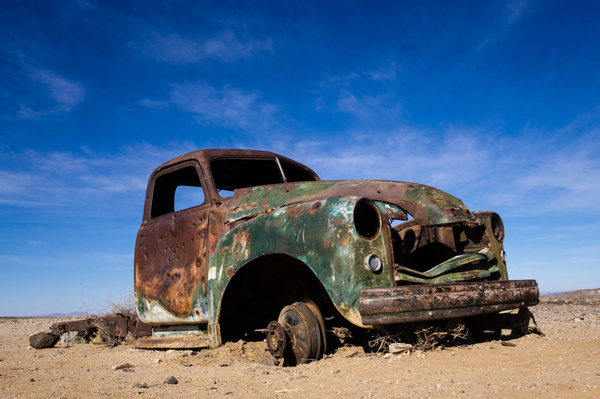 Bad Condition Car Low Angle View No People Outdoors Rusty Scenics Scrap Metal