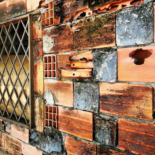 Textures Urbex Venezuela Texturas Bloques Apure Ladrillos