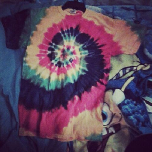 My new shirt Tie_dye