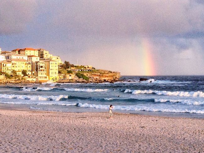 Bondi Beach BondiBlues Bondiscape Rainbow Sky