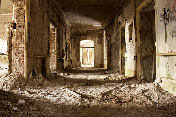 Abandoned Architectural Column Architecture Bad Condition Building Built Structure Ceiling Damaged Destruction Deterioration Dirt Dirty History Indoors  Messy No People Obsolete Old Old Ruin Ruined Run-down The Past Window