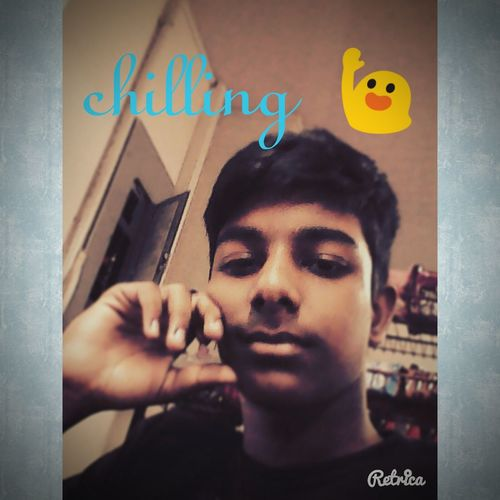 Chilling 😃😉