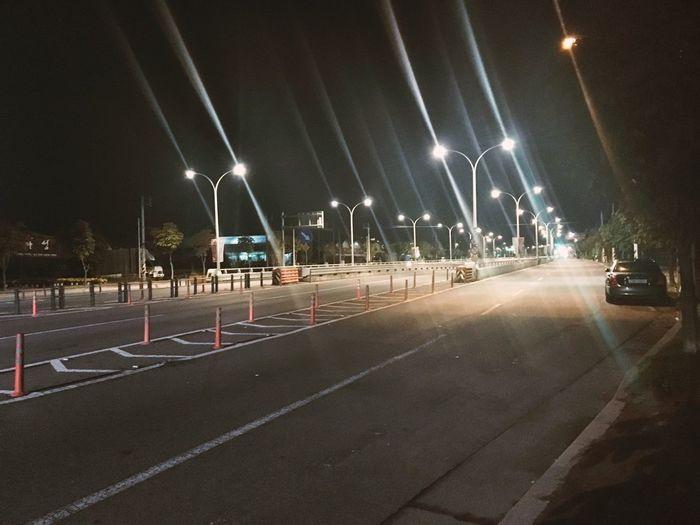 Night Street Light Road No People City 2017 HelloEyeEm Dawn Walk Who Are You ? My Life