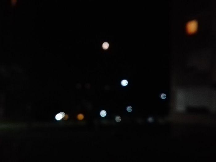 lights Moon Nofocus  Night Stairs