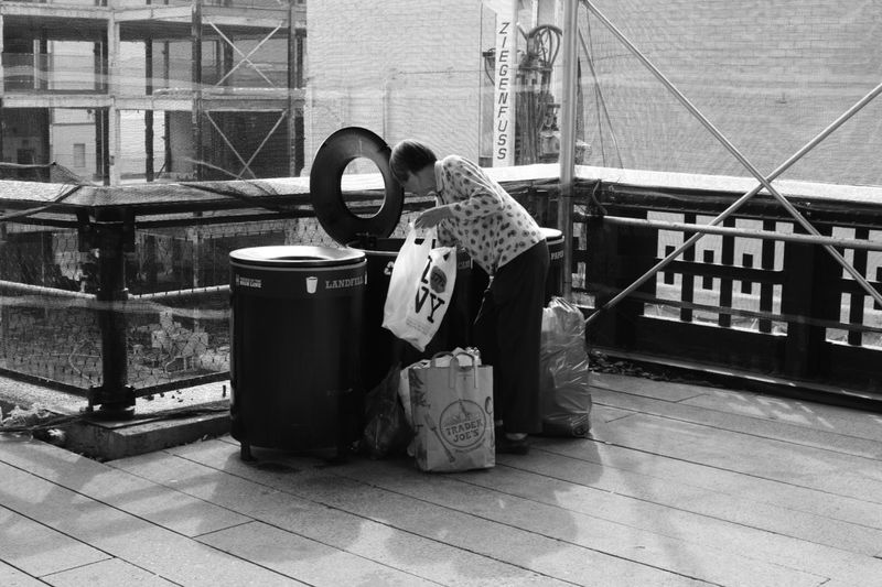 Can and bottle collector, love the bag she putting them in! Picoftheday Monochrome Shootermag Street Photography Amateurphotographer  EyeEm Best Shots - Black + White EyeEm Best Shots Eye4photography  Showcase April Blackandwhite Photography Nikonphotography Street Art Newyorkcity Black And White Nikond3300 Nikontop EyeEm Masterclass Streetphoto_bw People Photography