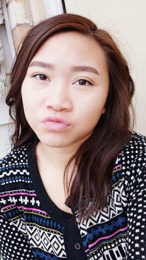 Blah Makeup Selfie Christmas Winterbreak