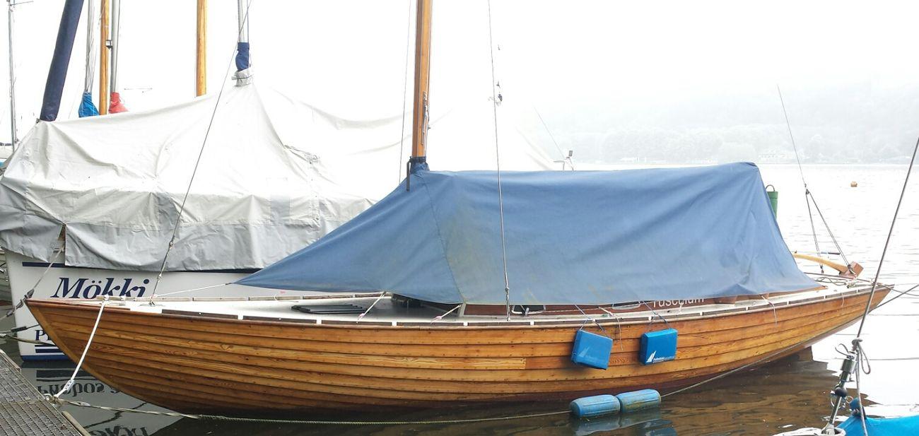 Nordisches Folkeboot. Gebaut 1970 in Asmundsdorp/Schweden. Seit 2000 am Baldeneysee/Deutschland. Sailing Boats Ruhrgebiet The Purist (no Edit, No Filter) Folkeboot