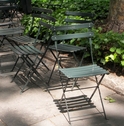 Bryant Park NYC Calmness Manhattan Resting Place Chair Day Growth Nature No People Outdoors Plant Resting Time