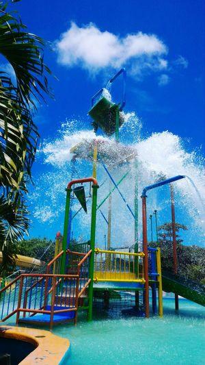 Splash Water at water park Kupang