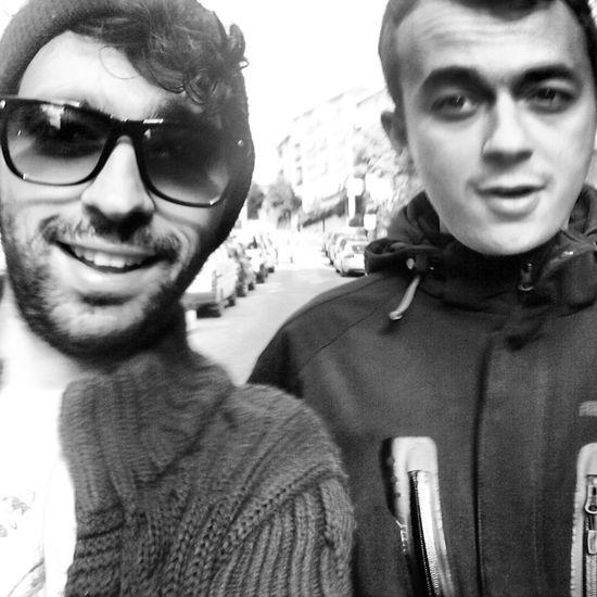 leaving broville Hi! Selfie Blackandwhite Monochrome