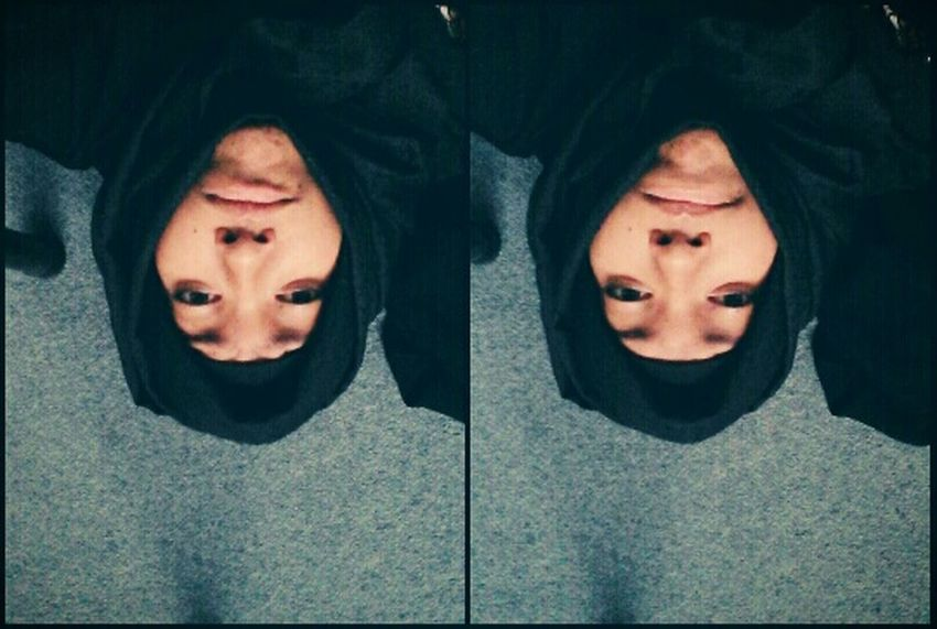 Upside Down Hijaab Weird Face
