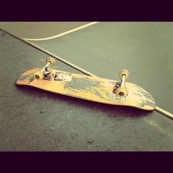 Cheeky Frontside before the storms! Skateboarding Skateramp Welcomeskateboards nimbus3000