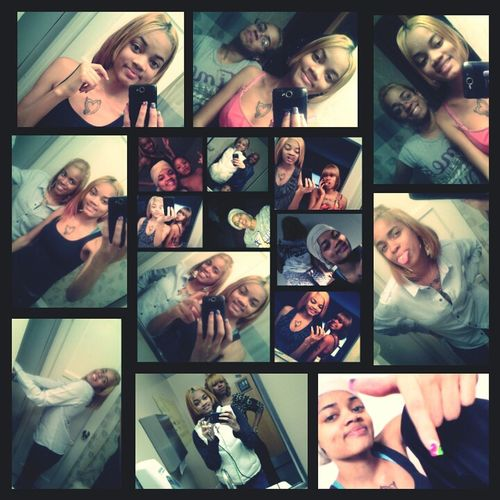we take so many pics its crazzy bt oh well we're cute.!! (my sista & i)