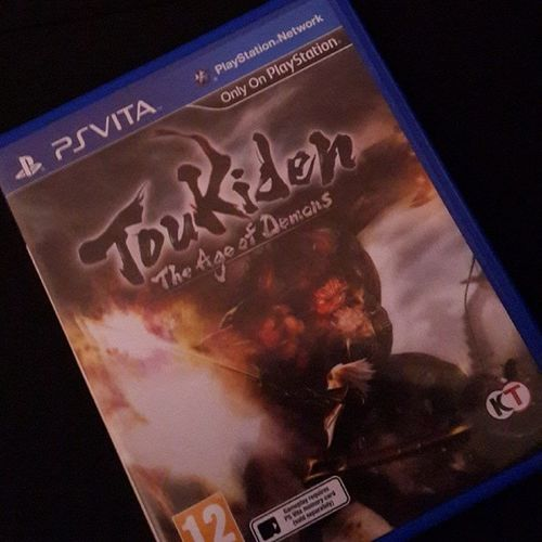Ps_vita Toukiden Age_of_demons Koei playstaion