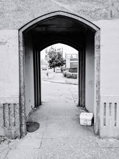 Entrance to building