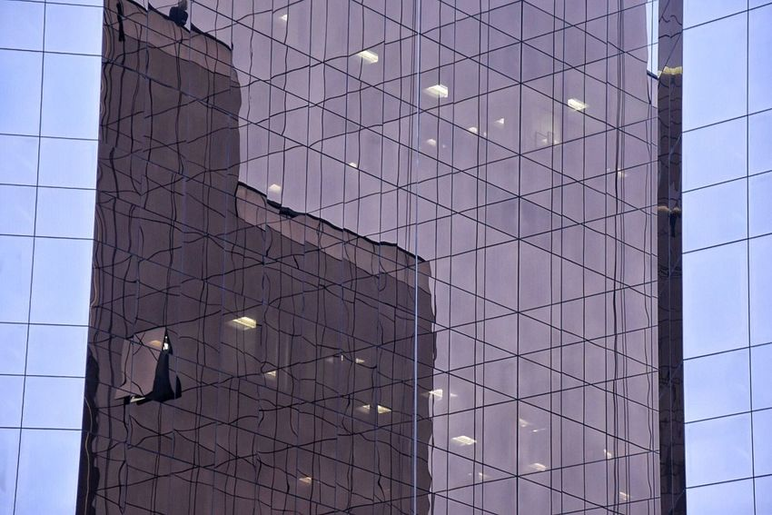 Architectural reflections. Adapted To The City Low Angle View Architecture Built Structure Building Exterior City Architecture City Reflection City Building Love EyeEm City Architecture Modern Architecture EyeEm Gallery EyeEm Masterclass EyeEm Best Shots Getty X EyeEm EyeEm Eye4photography  Architectural Detail No People Modern Illuminated Outdoors Sky Day