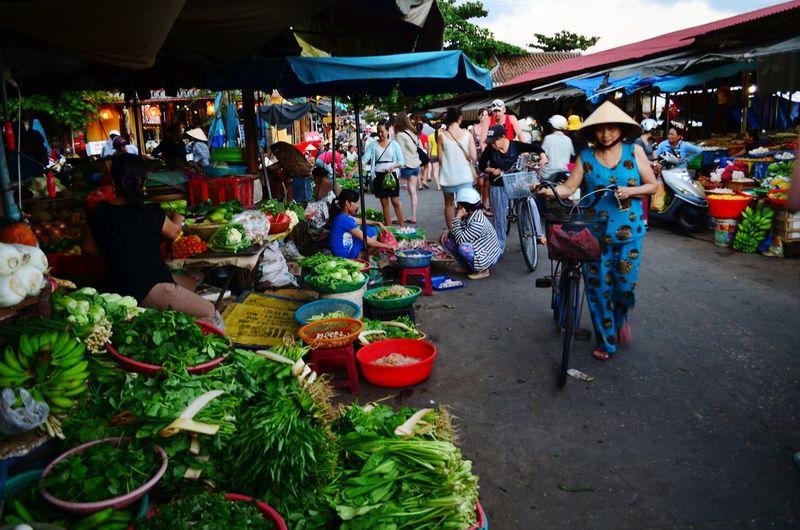 The local market in Hoi An Local Market Market Vegetable Market Hoi An Vietnam
