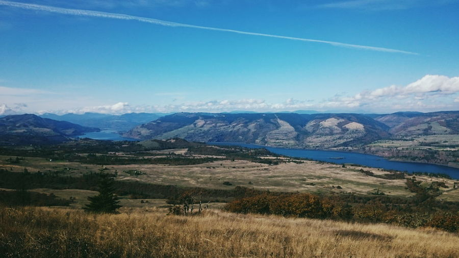 Landscape Scenics Nature Blue Outdoors No People Sky Beauty In Nature Tranquility Non-urban Scene Columbia River Gorge Columbia River Pacific Northwest