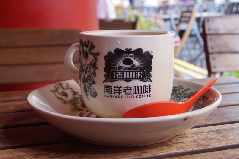 Breakfast at Nanyang old coffee Break Breakfast Chinese Chinese Writing Close-up Coffee - Drink Coffee Cup Day Drink Food And Drink Kopi Nanyang Cafe No People Refreshment Singapore Table Text Travel Western Script