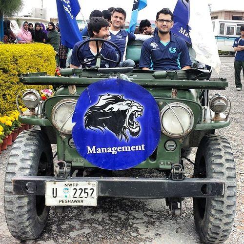 Sports Week COMSATS Attock Campus. Comsats Comsatsatk Sports SportsGala2014 attock university students management jeep selfie army
