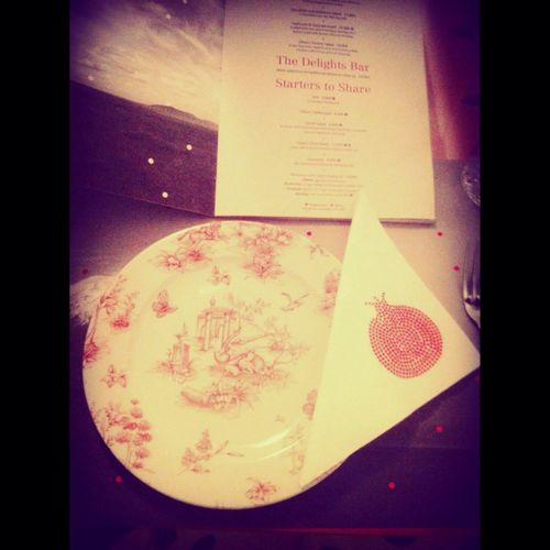 Very beautiful porcelain plates