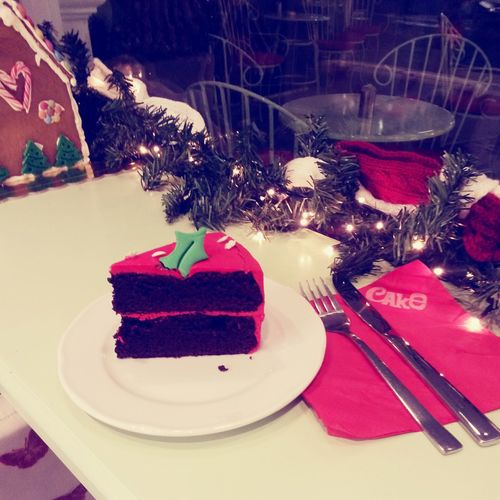 Cake Cake Kifisia Chocolate Cake Christmas Time Christmas Decorations Calories upoglukemies...??????⛄