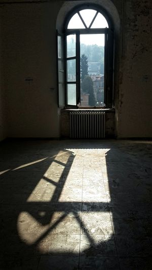 In this space I will exhibit my photos from 1 to 5 November in Turin Italy Abandoned Buildings Military Zone Art Spaces Window Shadow Indoors  Architecture Built Structure No People Empty Room Architecture_collection Sunlight Walking Around Shadow And Light Perspective Second Acts
