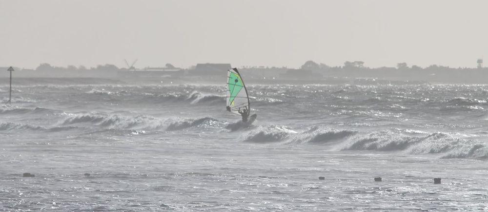 Enjoyment Green Leisure Activity Motion Nofilter Sea Sport Water Waterfront Wave Wind Surfing